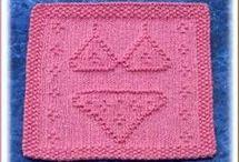 Knitting : dishcloths