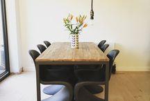 mélange chaises verner panton