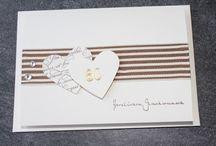 Diamanten Hochzeitskarte
