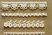 crochet edging, bookmaker, lace