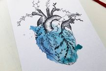 Ilustraciones - Acuarelas / Ilustraciones realizadas en acuarela