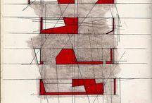 architecture sketces