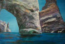 """RockHorses"" art series by Angel.kourkoulou"