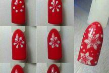Świąteczne stylizacje paznokci