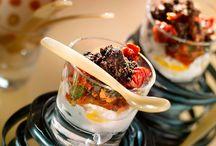 Vasitos. Salados y dulces