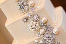 Pearls, Beads and Bling Wedding Theme