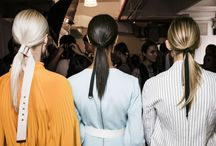 Ponytails / It's your place for ponytails, whether they're perky and full or sleek and chic.