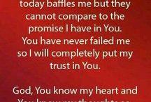 Word of God & prayers