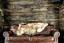 Wood wall clad