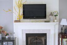 fireplace / by Linda Corscadden Houser