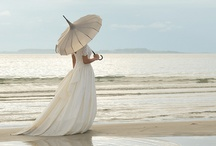 My Parasol Please / Romantic, feminine, beautifully used for her protection.