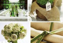 Green Wedding Decorations Ideas