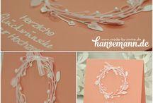 Hochzeitskarten & Co/Wedding cards and more