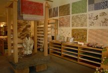 Places to Shop for Paper / Paper stores, custom paper artisans and papermakers.