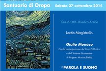 Events / Eventi al Santuario di Oropa