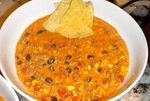 Recipes - Meals, Soups, & Appetizers / by Cat B