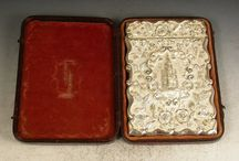 Antique Card Cases / Some of our antique card cases for sale
