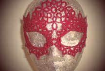 Macrame máscaras