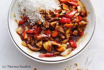 Asia Style / Asiatisch inspiriert: Diese Gerichte strotzen vor fernöstlichen Aromen. Die Rezepte von frisch gekocht beinhalten jedoch nur Zutaten, die es auch im hiesigen Supermarkt gibt.
