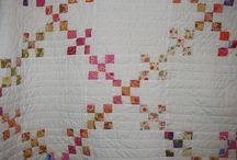 9 patch quilt ideas / by Debby Grice