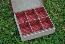 Cartonnage boîte à thé