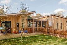 Eco-nursery by TGEscapes in Wiltshire