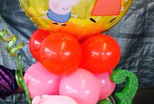 Peppa party / by Hayley Harwell