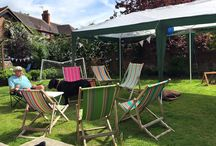 Deckchairs for hire!