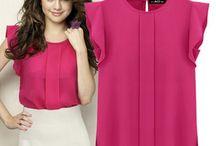 Blouse & Skirt / Women Clothing - Blouse  & Skirt