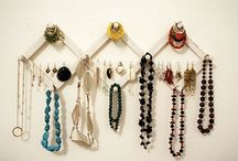 Jewelry/Craft Displays / DIY displays I plan on using these ideas in up coming craft shows, and later in my boutique. / by Kay La'Beautique