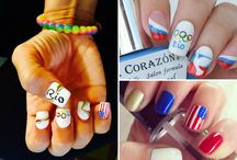 Olympics Nail Art Designs / Team USA is racking up the medals in the Summer Olympics 2016! Cheer them on some more with these awesome nail designs!