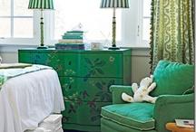Emerald Green & Grey