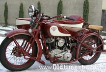 Classic old europe motocycles