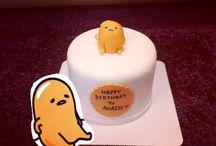 Gudetama Fondant Cake