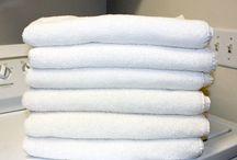 toalhas brancas