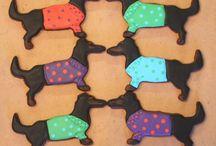 Animals Dog cookie