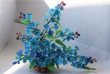 Korálky - květiny/stromy