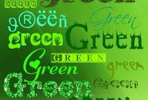 Need For Green / The color green.