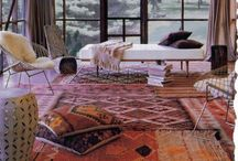 Interiors with Beautiful Rugs