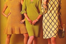 strikkede kjoler