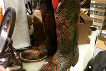 Boot Scootin' / We carry a lot of boots from many different brands! We carry Justin, Cinch, Red Wing, Ariat, Twisted X and so much more!