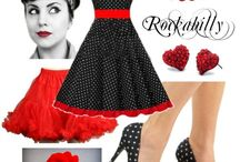 Pin Up, Rockabilly, Vintage
