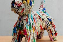 Art - recycled material