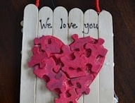 Valentine art projects