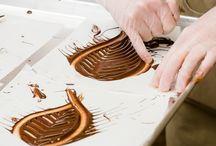 Süti dekor: csokiból
