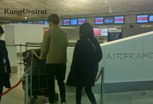 Lee Min Ho at Charles De Gaulle International Airport & Incheon International Airport-18-19.03.15