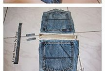 Blue Jeans/Denim Crafts / by Linda Frank
