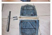Blue Jeans/Denim Crafts / by Linda Frank