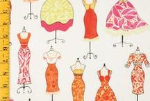 Crafts ~ Sewing, Fabrics / fabrics