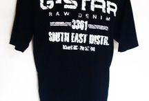 g star / verschillende kleding stukken van g star